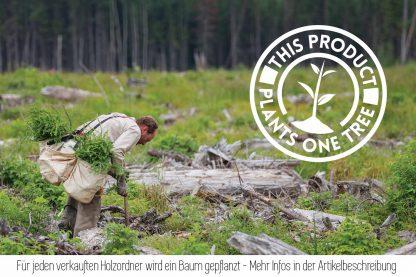 Nachhaltiger Holzordner aus nachwachsendem Rohstoff
